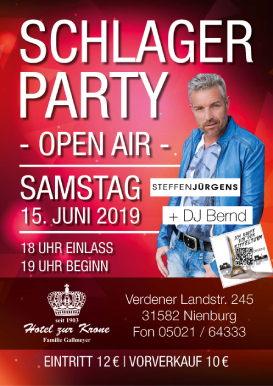 Schlagerparty Open Air